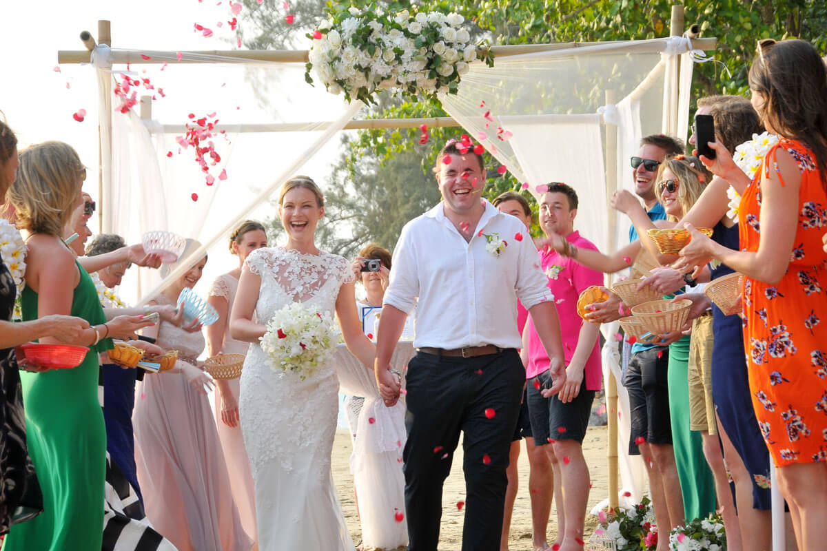 Koh Jum Beach Wedding Package