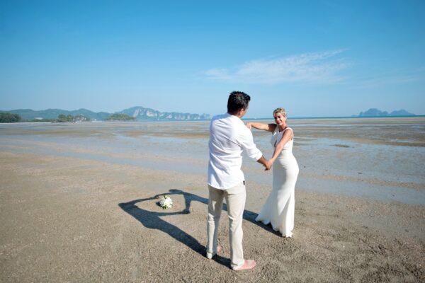 Krabi Beach Buddhist Blessing
