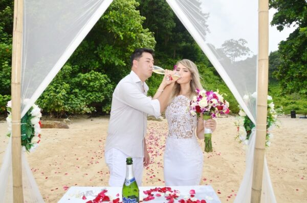 Phi Phi Beach Wedding